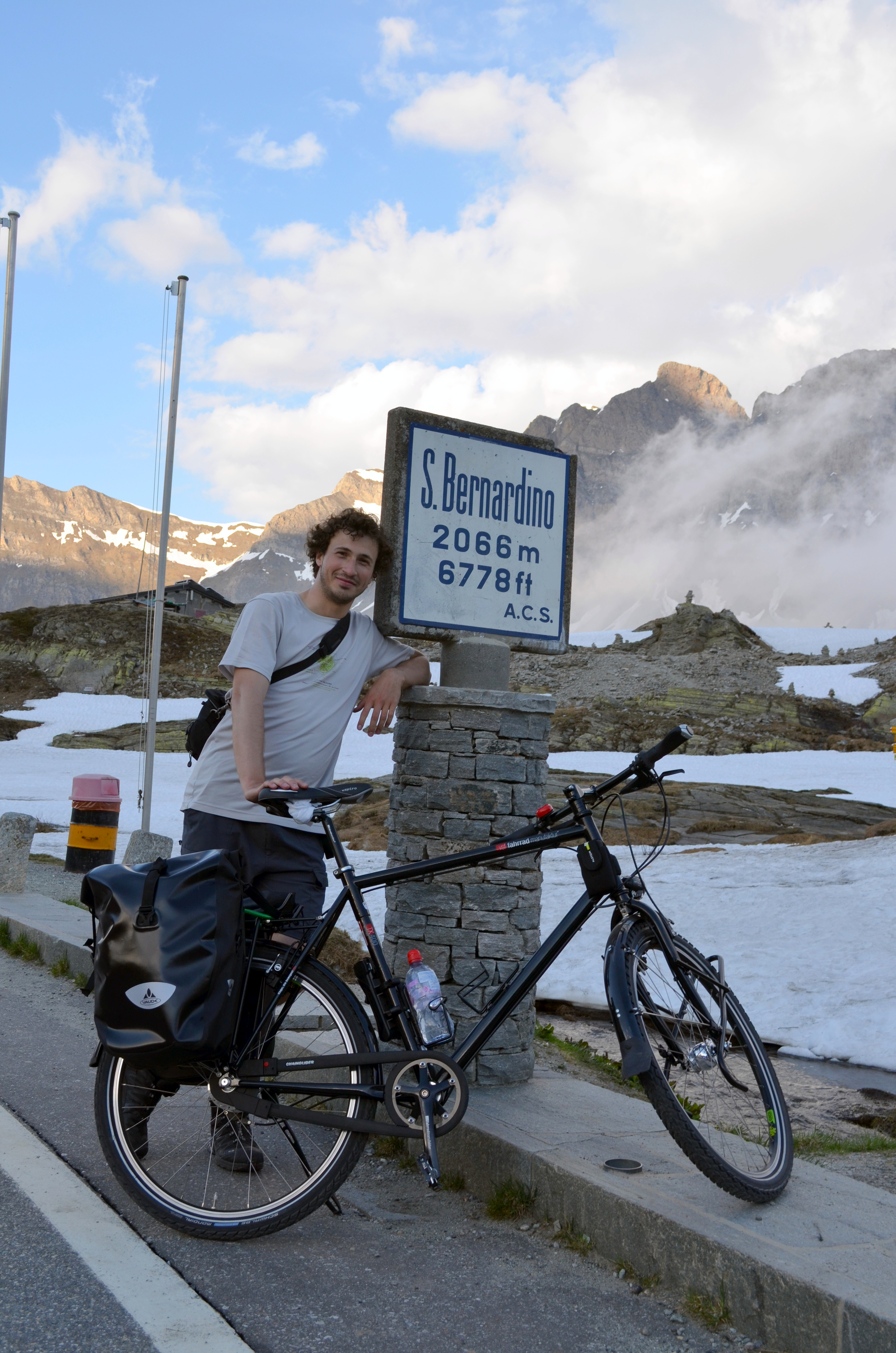 """On the road I am sometimes asked if I trained before going on a cycling trip. Not really. Well, I keep jogging in the hills twice a week as """"leg […]"""