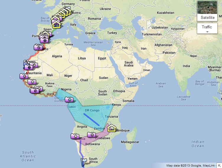 plan journey route