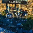And what for a 1000th kilometer! Cycled yesterday evening over the pass of the Pas de Peyrol at 1589 m, in the middle of a stratovolcano in the Massif Central.