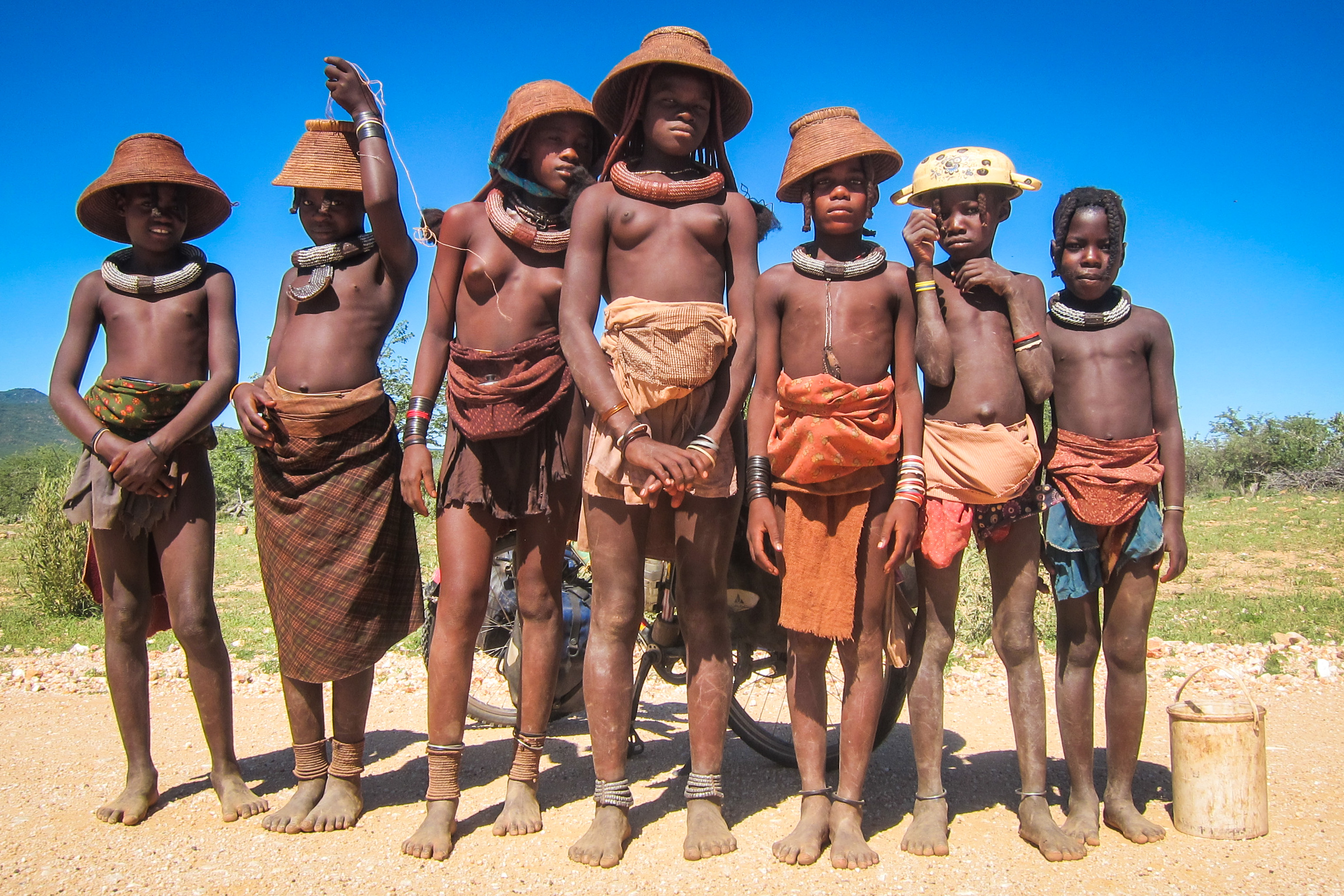 The Himba Of Namibia - Freewheely  Cycling Africa-7103