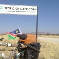 July 14th, and another 23°28′, but in the southern hemisphere this time: I just passed the Tropic of Capricorn. I had met the Tropic of Cancer in Western Sahara in […]
